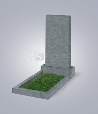 Памятник пр. 800x400x50 (G654 гранит тем.-сер.)