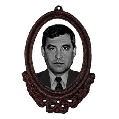 Фото в рамке типа Капля на памятник