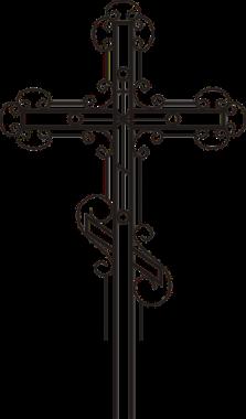 Православный узорный крест 180 см