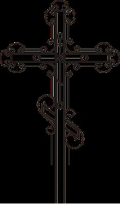 Крест узорный 5