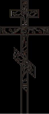 Крест узорный 4