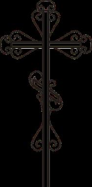 Крест узорный купить в новосибирске,крест металлический купить,недорого металлические кресты